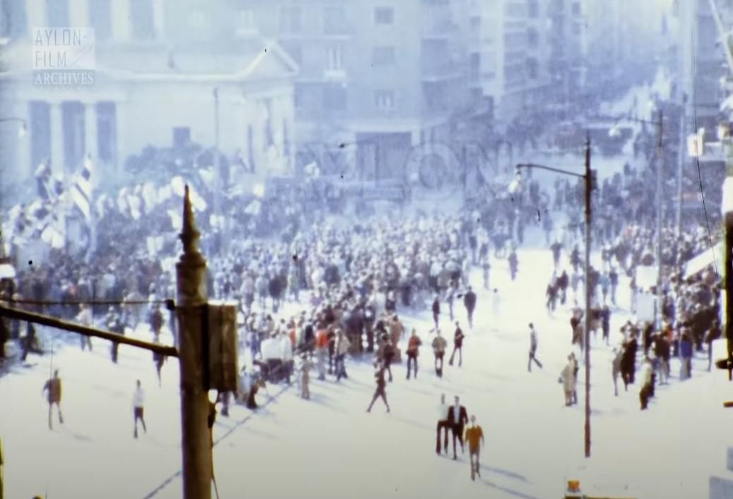 «Η εξέγερση του Πολυτεχνείου – Έγχρωμο φιλμ 16 -17 Νοεμβρίου 1973»: Αδημοσίευτο υλικό από τις ημέρες της εξέγερσης