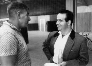 Με το Γκας Μακ Ντόναλντ, οργανώνοντας εργάτες, 1962